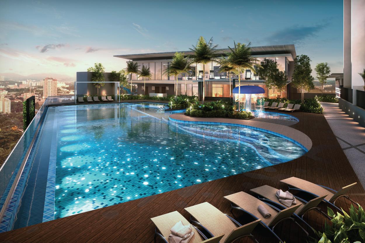 Luxury Highrise Residences Aset Kayamas